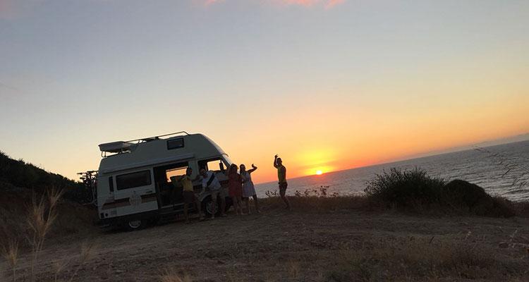 Dove affittare un camper nel sud della Sardegna